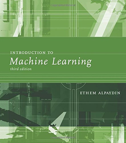 Introduction to Machine Learning, 3 edition