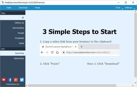 FreeGrabApp Free Dailymotion Download 4.0.0.208 Premium