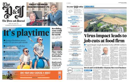 The Press and Journal Moray – July 03, 2020