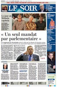 Le Soir du Mercredi 17 Mai 2017