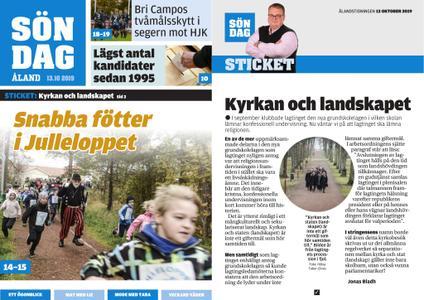 Ålandstidningen – 13 oktober 2019