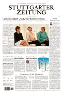 Stuttgarter Zeitung Nordrundschau - 18. Juli 2019