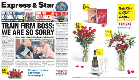 Express and Star Staffordshire Edition – February 13, 2020