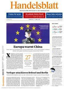 Handelsblatt - 17. April 2018