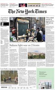 International New York Times - 24 April 2020