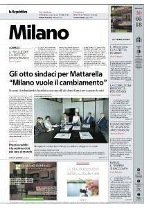 la Repubblica Milano - 30 Maggio 2018