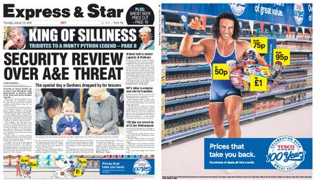 Express and Star City Edition – January 23, 2020