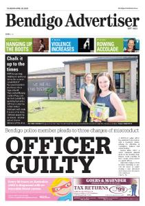 Bendigo Advertiser - April 2, 2020