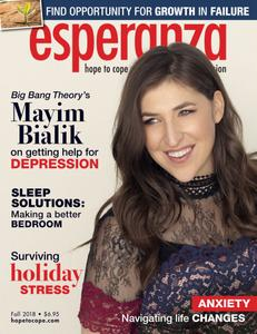 esperanza Magazine for Anxiety & Depression - October 2018