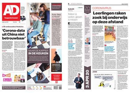 Algemeen Dagblad - Delft – 03 april 2020