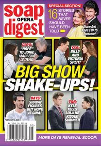 Soap Opera Digest - February 03, 2020