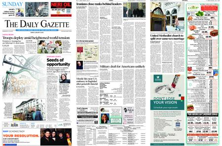 The Daily Gazette – January 05, 2020