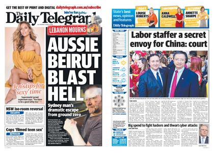 The Daily Telegraph (Sydney) – August 06, 2020