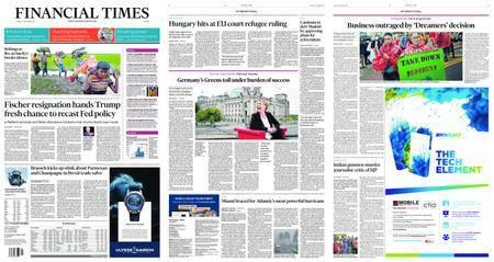 Financial Times Europe – September 07, 2017
