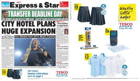 Express and Star City Edition – August 09, 2018