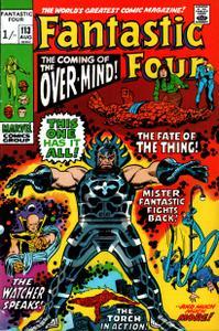 Fantastic Four 113 HD Aug 1971