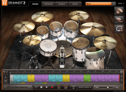 Toontrack EZdrummer 2 Core Library v1.1.1 Update WiN OSX