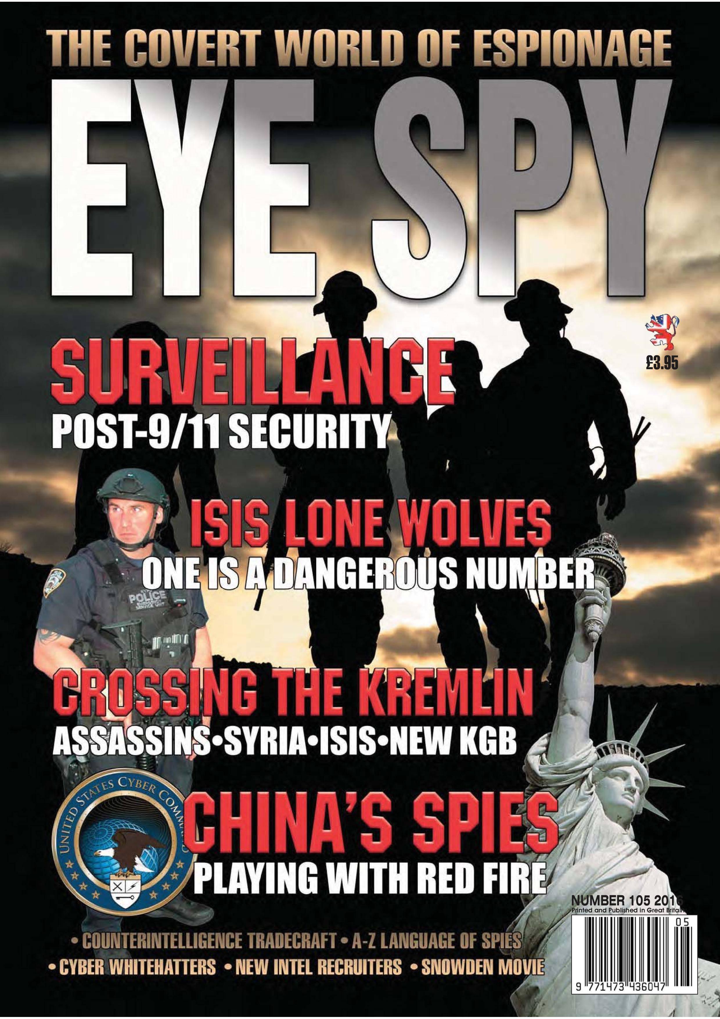 Eye Spy - October 2016