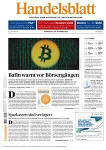 Handelsblatt - 09. November 2017