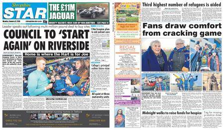 Shropshire Star Shrewsbury Edition – January 08, 2018