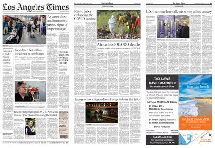 Los Angeles Times – February 20, 2021