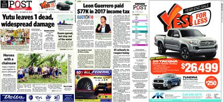 The Guam Daily Post – October 26, 2018