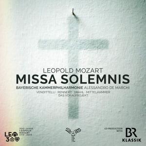 Bayerische Kammerphilharmonie - Leopold Mozart: Missa Solemnis (2019)