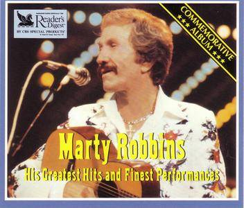 Marty Robbins - His Greatest Hits And Finest Performances (3CD) (1983) {Reader's Digest} **[RE-UP]**