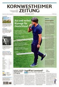 Kornwestheimer Zeitung - 28. Juni 2018