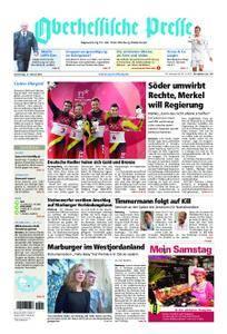 Oberhessische Presse Marburg/Ostkreis - 15. Februar 2018