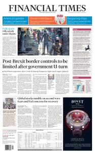 Financial Times UK - June 12, 2020
