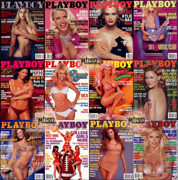 Playboy USA - Full Year 2001 Issues Collection