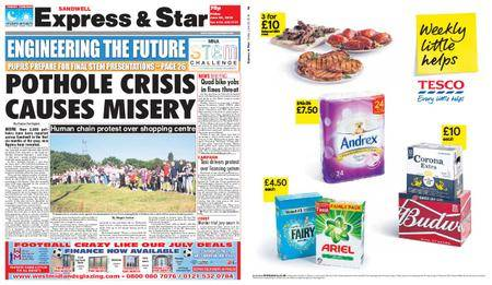 Express and Star Sandwell Edition – June 29, 2018