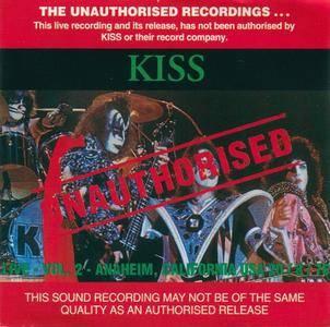 Kiss - Live Vol.2 (1993) {Bootleg}