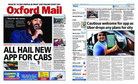 Oxford Mail – August 27, 2018