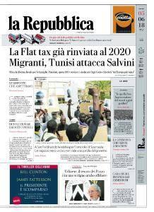 la Repubblica - 5 Giugno 2018
