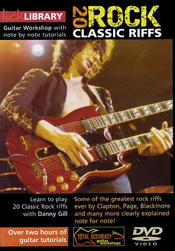 Lick Library: 20 Classic Rock Guitar Riffs with Danny Gill [repost]