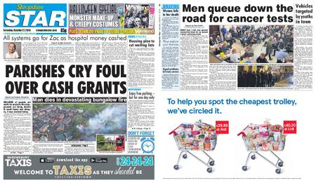 Shropshire Star Shrewsbury Edition – October 27, 2018
