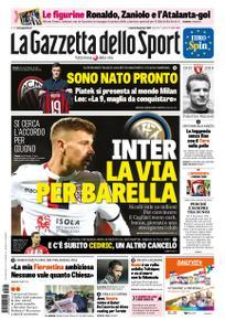 La Gazzetta dello Sport Roma – 25 gennaio 2019