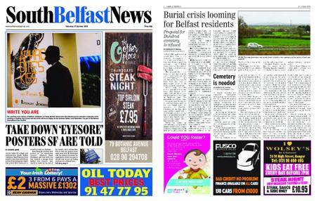 South Belfast News – October 27, 2018