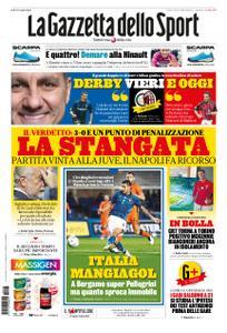 La Gazzetta dello Sport Roma – 15 ottobre 2020