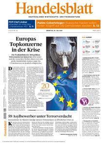 Handelsblatt - 26. Juli 2016