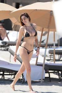 Aida Yespica - Bikini Candids in Miami May 11, 2017
