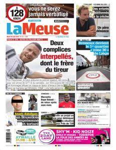La Meuse - 28 août 2018