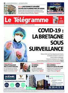 Le Télégramme Landerneau - Lesneven – 26 mars 2021
