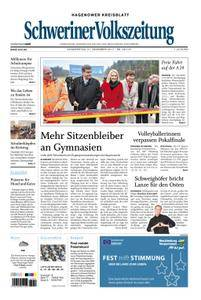 Schweriner Volkszeitung Hagenower Kreisblatt - 21. Dezember 2017
