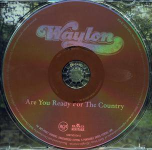 Waylon Jennings - Are You Ready For The Country (1976) Reissue 2004
