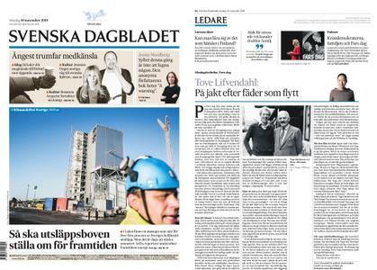 Svenska Dagbladet – 10 november 2019