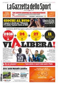 La Gazzetta dello Sport Roma – 18 marzo 2020