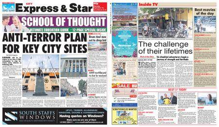 Express and Star City Edition – September 14, 2017